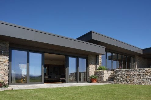 Aluminium Sliding Door Devon - Aspect Windows