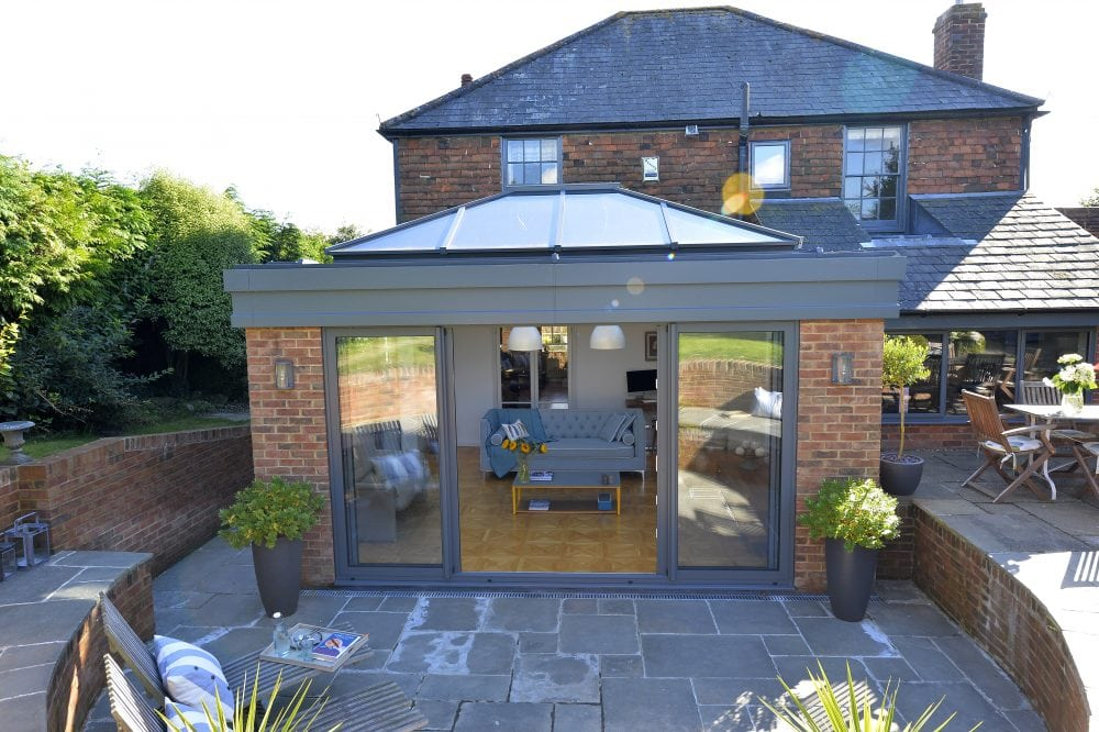 Atlas Double Glazed Roof Lantern Aspect Windows