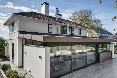 Single storey extension - van-Ellen-Sheryn Chartered Architects