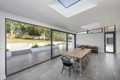 Large sliding doors - van-Ellen-Sheryn Chartered Architects