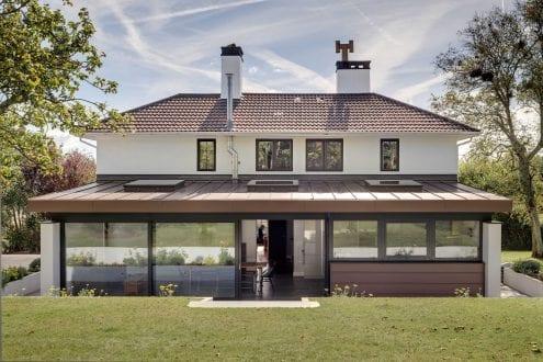 Large glazed doors - van-Ellen-Sheryn Chartered Architects