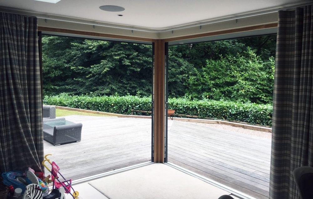 Open Corner For Bi Folding And Sliding Doors Aspect Windows