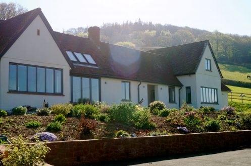 Windows in Exmoor property