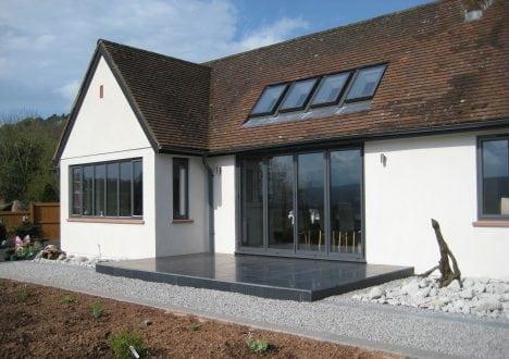 Bi-folding doors and windows Exmoor