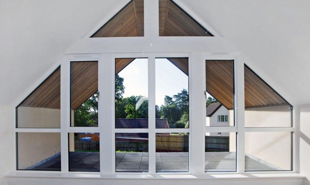Dual Coloured Aluminium Bi Folding Doors French Patio Doors And