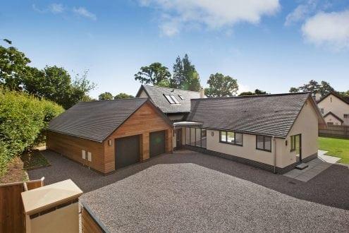 West Hill new build, featuring aluminium glazing