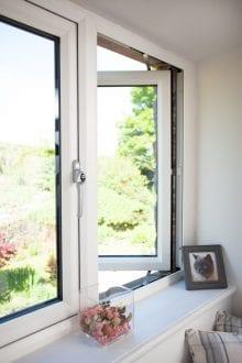 Casement double glazed window