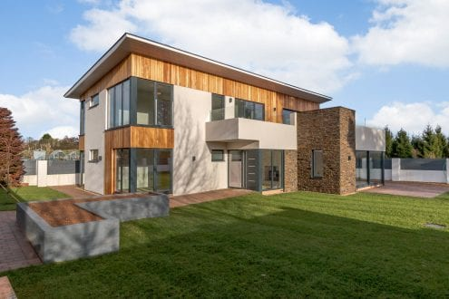 Clyst St Mary property with floor to ceiling windows