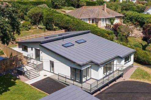 Seaton property with aluminium glazing