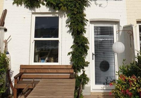 Sliding Sash Window and Back Door