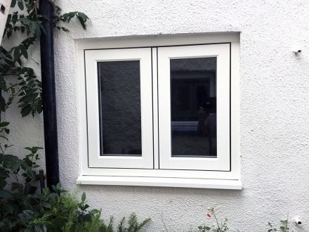 Slim & contemporary window