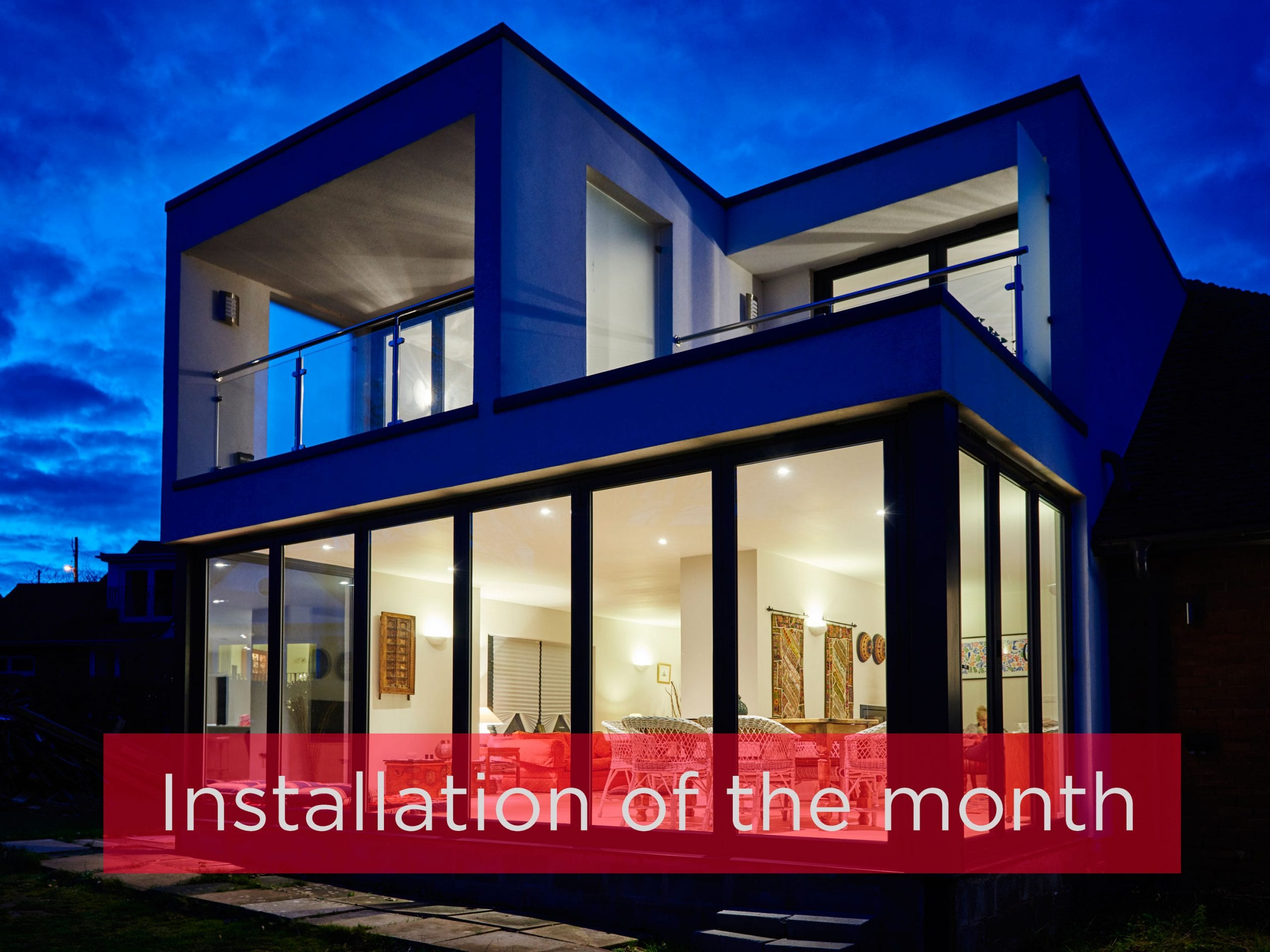 Origin Installation of the month winner by Aspect Windows