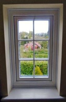 Timber replica windows