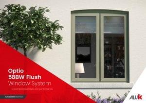 AluK Slimline Flush Window
