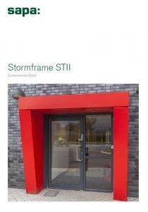 Sapa STII Commercial Door