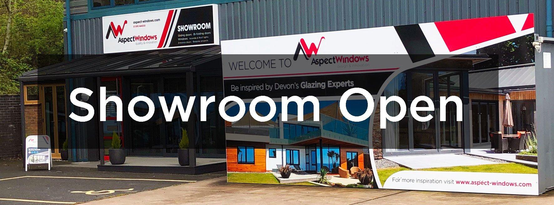 Aspect Windows showroom open