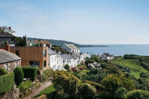 Coastal property with aluminium windows