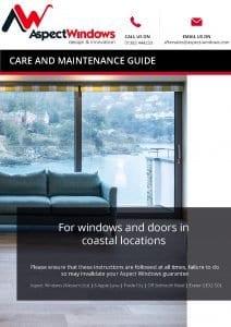 Aspect Windows Care and Maintenance Guide - Coastal Locations