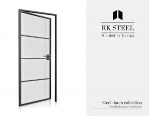 RK Steel - Interior room partitions and doors