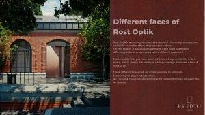 RK Door - Rust Optik Finishes