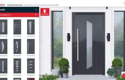 Design your perfect front door