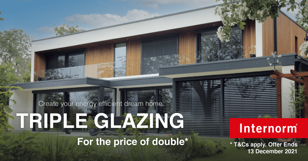Internorm Triple glazing for the price of double