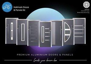 Hallmark Aluminium Door Collection