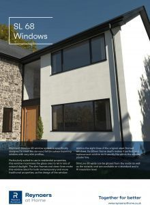 Reynaers SlimLine 68 Window