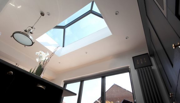 Lantern rooflight - internal view